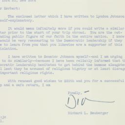 Letter: 1958 June 5