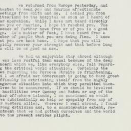 Letter: 1958 September 18