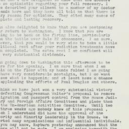 Letter: 1959 January 6