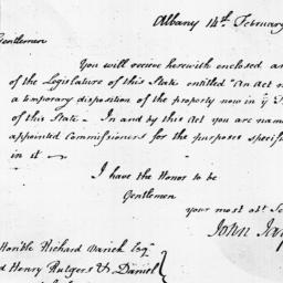 Document, 1798 February 14