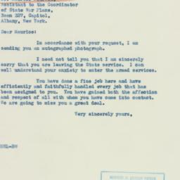 Letter : 1942 October 28