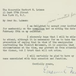 Letter: 1948 February 4