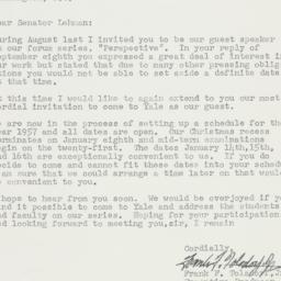 Letter : 1956 December 12