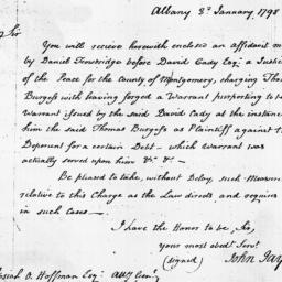 Document, 1798 January 03