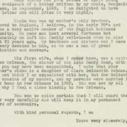 Letter : 1950 April 24