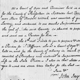 Document, 1797 October 11