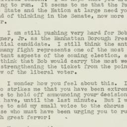 Letter : 1949 July 21