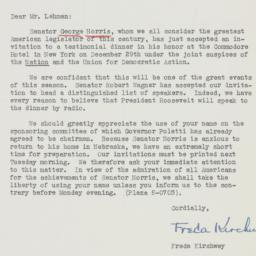 Letter : 1942 December 4