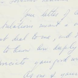 Letter : 1961 May 22