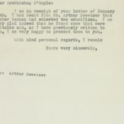 Letter : 1950 January 18