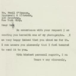 Letter : 1931 April 11