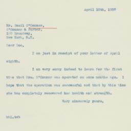Letter : 1937 April 10