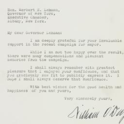 Letter : 1941 November 27
