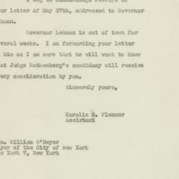 Letter: 1947 May 29