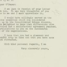 Letter : 1949 March 3