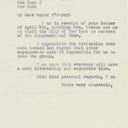 Letter : 1950 April 12