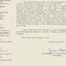 Letter : 1953 December 4