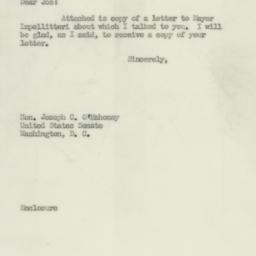 Letter : 1952 February 28