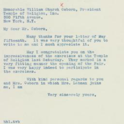 Letter : 1940 May 17