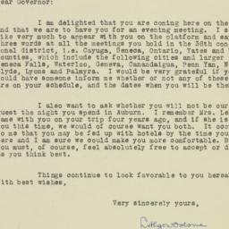 Letter : 1932 October 14