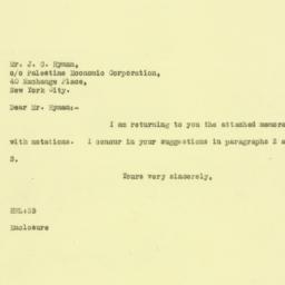 Letter: 1925 October 8