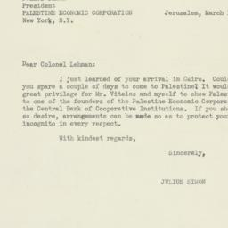 Letter: 1944 March 14