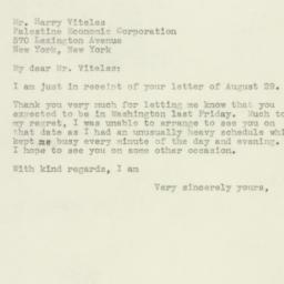Letter : 1944 September 4