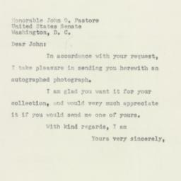 Letter : 1952 May 19