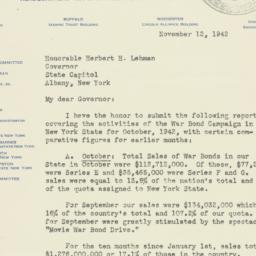 Letter : 1942 November 12