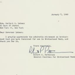 Letter : 1948 January 7
