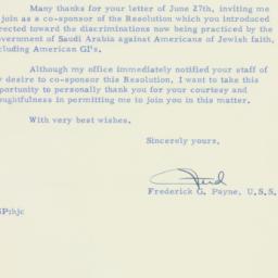 Letter : 1956 July 3