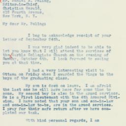 Letter : 1942 September 28