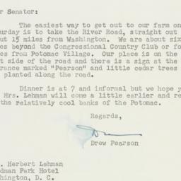 Letter : 1951 July 26