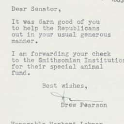 Letter : 1953 May 19