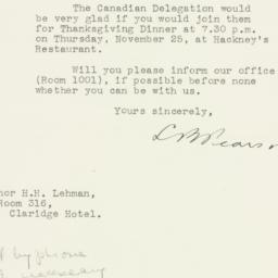 Letter : 1943 November 24