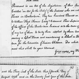 Document, 1796 August 15
