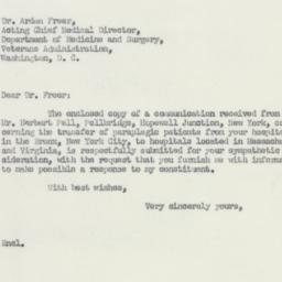 Letter : 1951 February 5