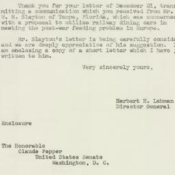 Letter : 1943 December 28