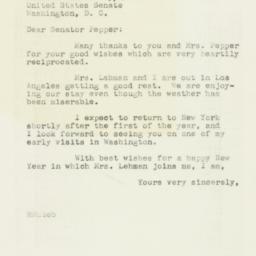 Letter : 1946 December 28