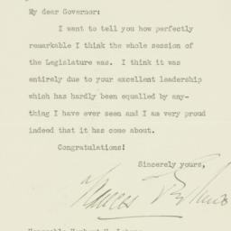 Letter: 1935 April 19