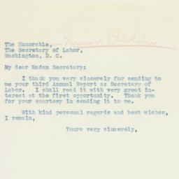 Letter: 1936 February 11