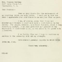 Letter: 1946 November 11