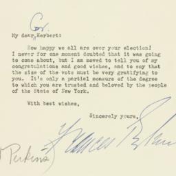 Letter: 1949 November 10