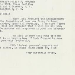 Letter : 1953 July 6