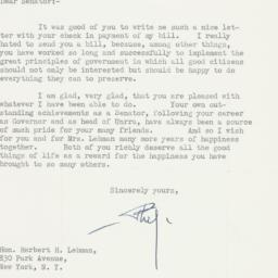 Letter : 1954 December 21