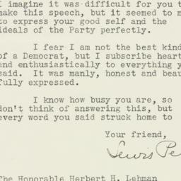 Letter : 1942 August 20