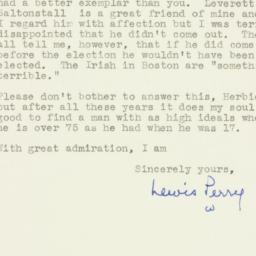 Letter : 1954 December 6