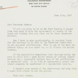 Letter : 1937 June 11