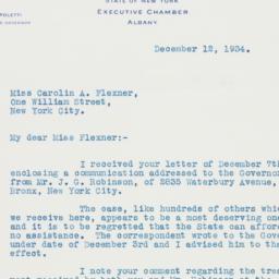 Letter: 1934 December 12