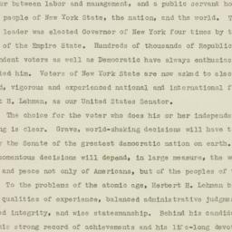 Speech: 1946 October 30
